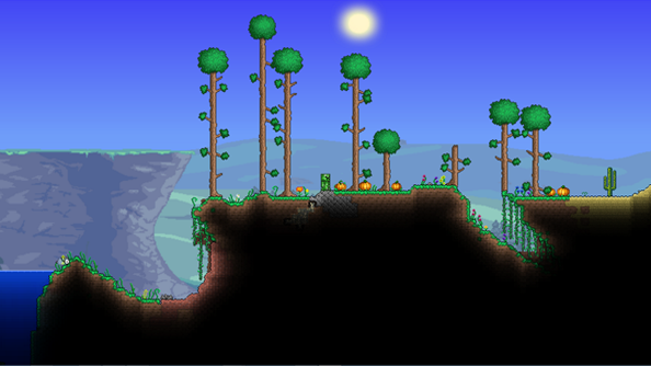 Terraria Halloween update gives you invincible mice. And a Pumpkin Moon.