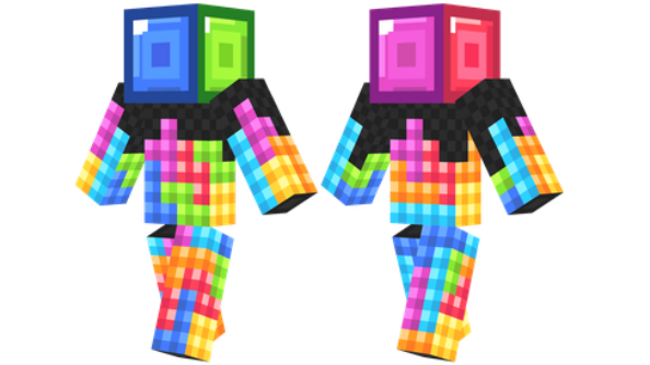 best minecraft skins Tetris