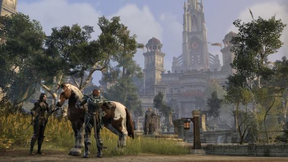 The Elder Scrolls Online's first microtransaction will be a horse