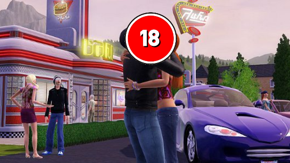 The Sims 4 Russian 18+ rating
