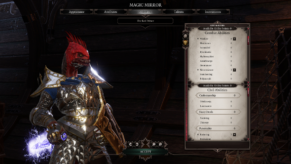 Divinity OS2 builds The Armoured Masochist