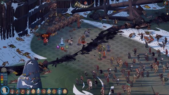 The Banner Saga 3 combat
