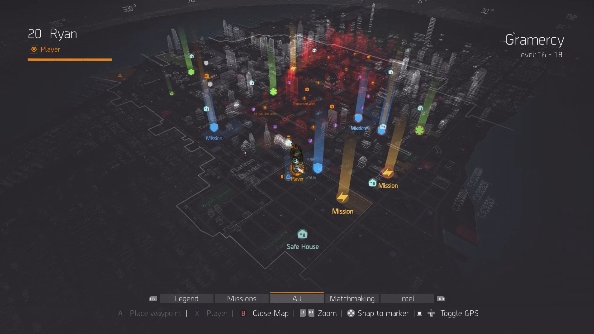The Division PC map