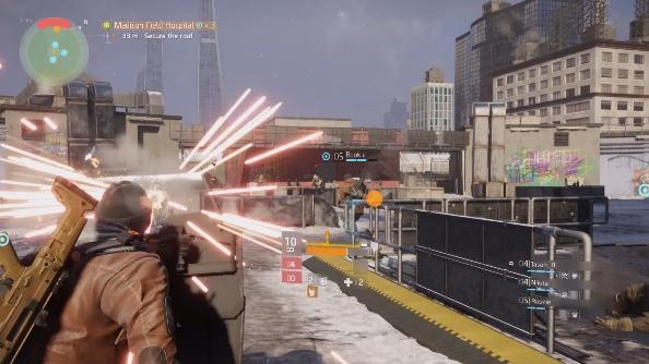 The Division PC combat