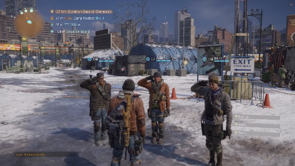 The Division PC salute