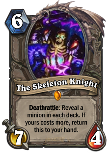 The Skeleton Knight card