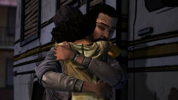 The Walking Dead Lee and Clem