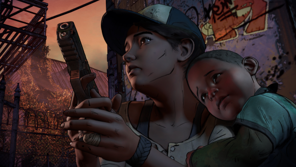 The Walking Dead season 3 Clem and AJ