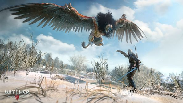 The Witcher 3: Wild Hunt now has an Nvidia Geforce driver; you should probably get it