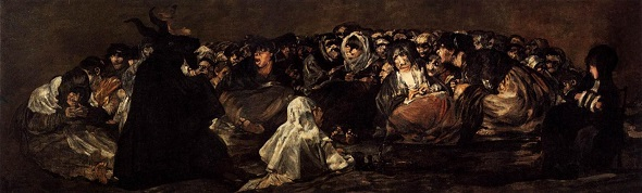 The Witches' Sabbath, Francisco Goya