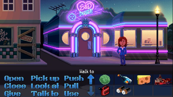 Thimbleweed Park is a 1980s point-and-click wearing rose-tinted glasses