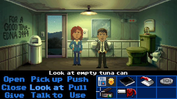 Thimbleweed Park Ron Gilbert Point-and-click