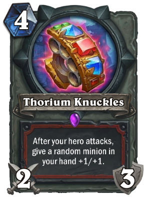 Thorium Knuckles