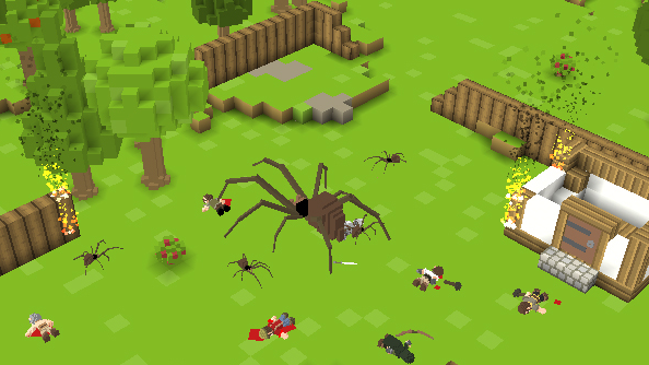 Want more voxel-based building games? Timber and Stone is about to sail through Kickstarter