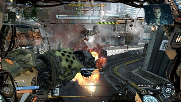 The campaign mode is a big, metal punch in the face to Titanfall players.