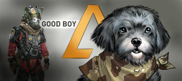 Titanfall 2 dog