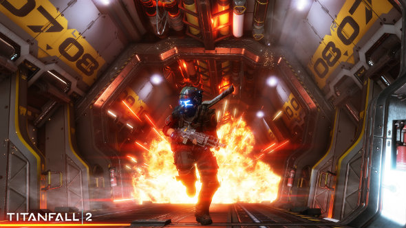Titanfall 2 explosion escape