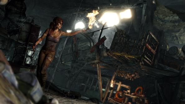 Tomb Raider Crystal Dynamics Square Enix