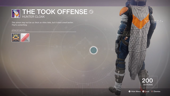 Took Offence cloak (Image credit: Andyboyswe on YouTube)