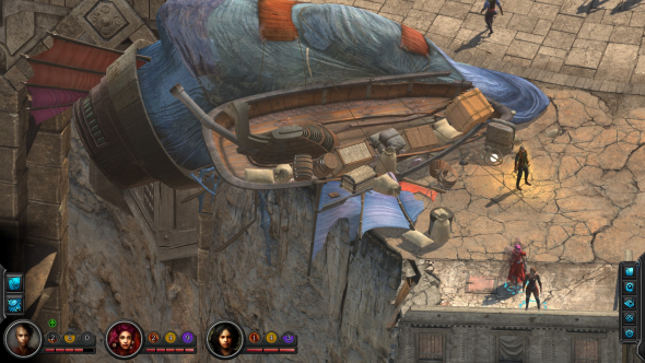 Torment: Tides of Numenera gameplay