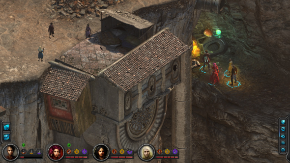Torment: Tides of Numenera Sagus Cliffs