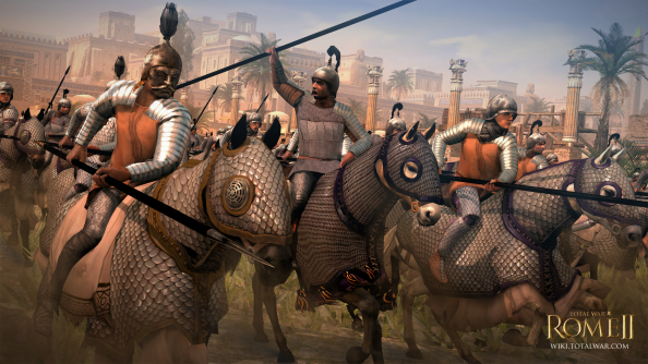 Total War: Rome 2's Parthia faction revealed: they like horses