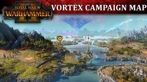 See the Vortex campaign map from Total War: Warhammer 2 in this new