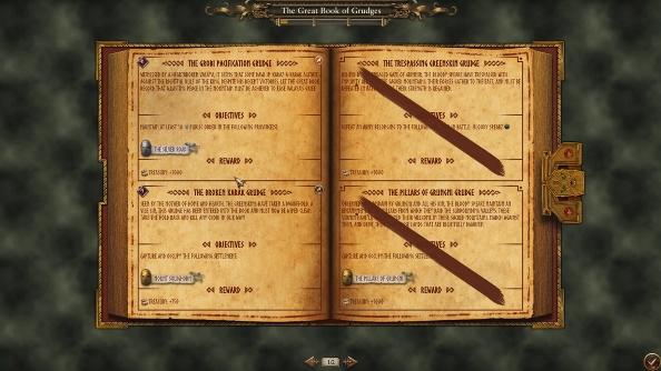 Total War Warhammer Book of Grudges