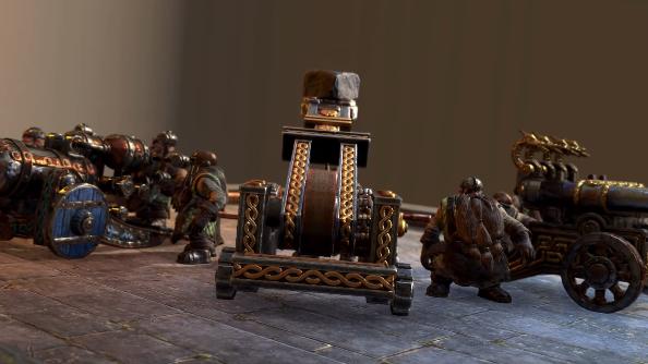 Total War Warhammer Dwarf Artillery