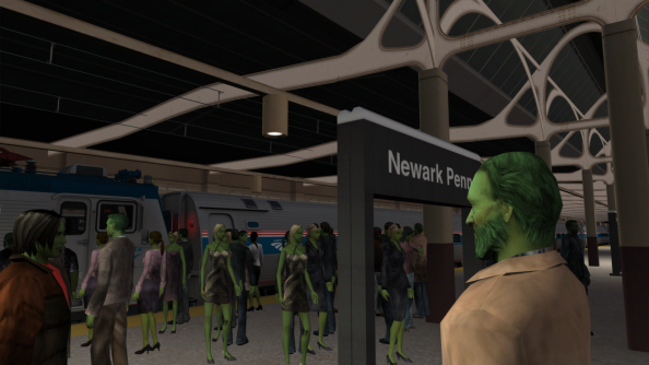 Trains vs Zombies 2 is now available, contains trains, features zombies
