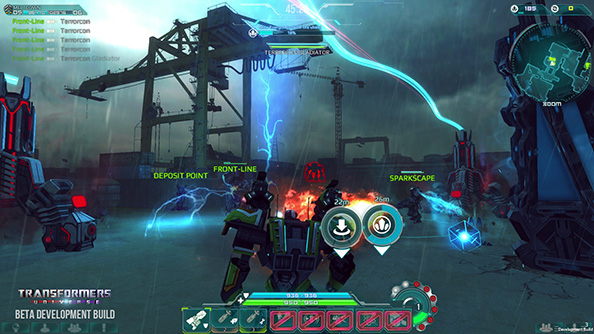 Transformers Universe is a massively online tactical action game about punching robots