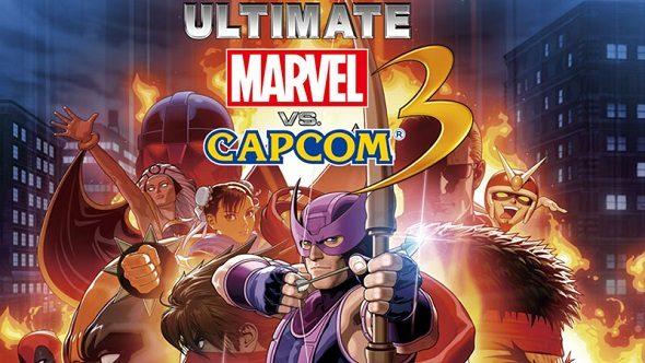 Ultimate Marvel vs Capcom 3 cover