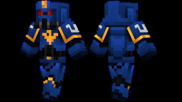 Ultra Marine Minecraft Skin