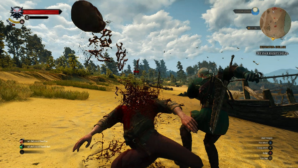Ultra Gore Witcher 3 mod