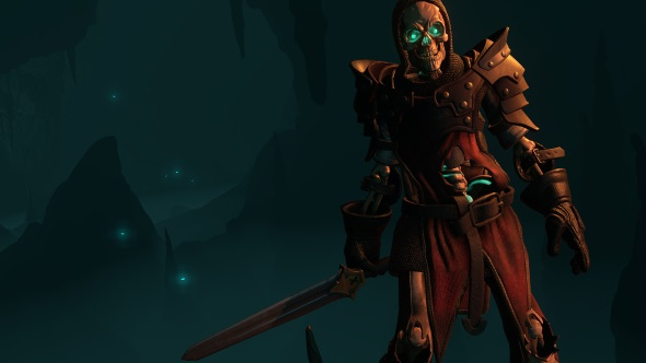 Underworld Ascendant skeleton