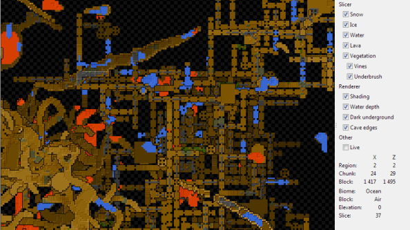 Unmined: for all your Minecraft mapping needs