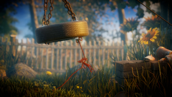 Unravel is as cute as you expect it to be, watch it in action here