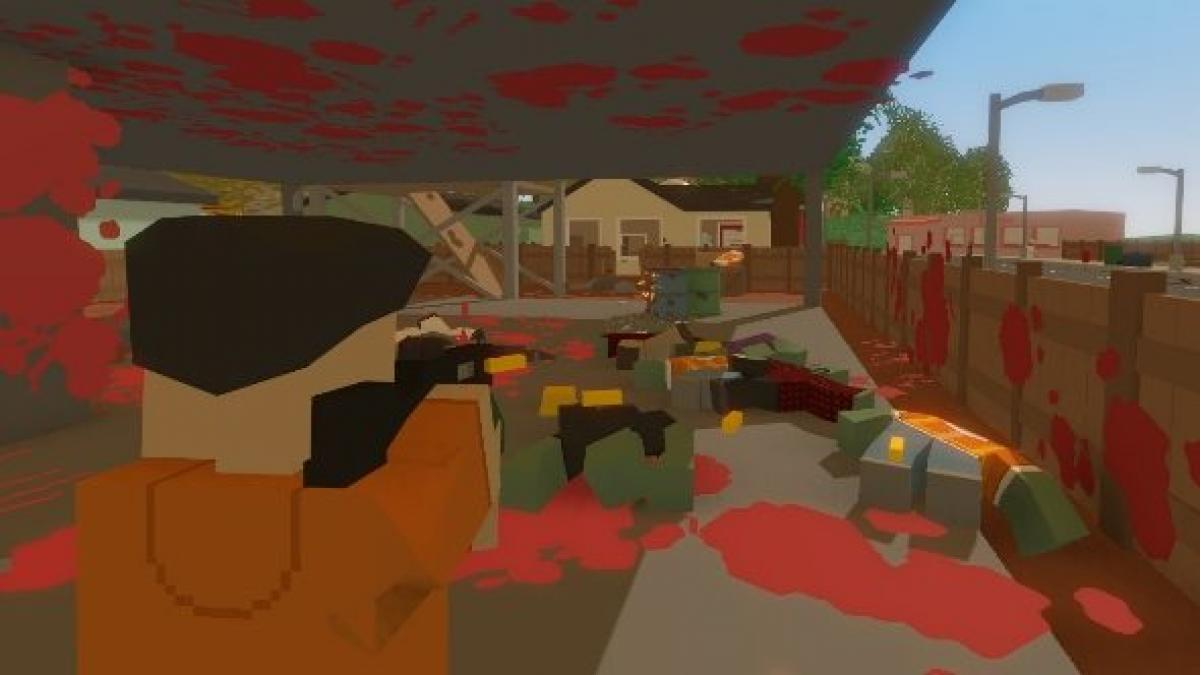 Being tortured by kids in Unturned, a knock-off survival sim with ...