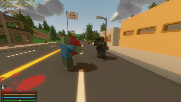Unturned street kid