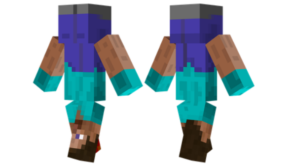 best minecraft skins Upside Down
