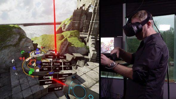 VR in VR Epic Games
