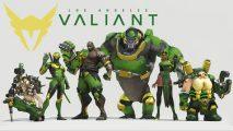 LA Valiant Overwatch team roster