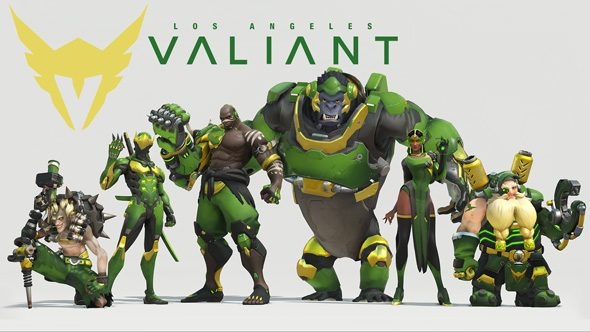 LA Valiant Overwatch team roster