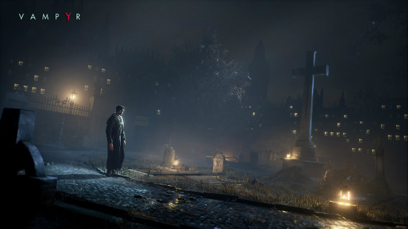 New screens show Vampyr's blood-sucking protagonist must be a night doctor