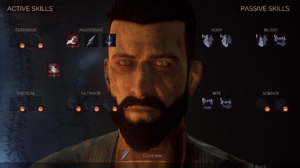 Vampyr skills menu
