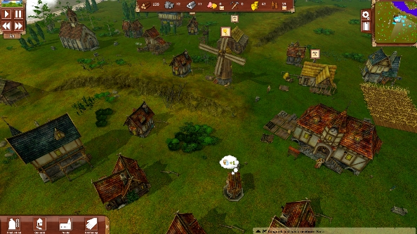 Winter is coming in Villagers, a city builder with distinct old-school vibes