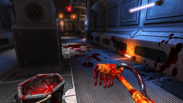 Viscera Cleanup Detail gives derelict space stations a much needed FPS mop-and-bucket treatment