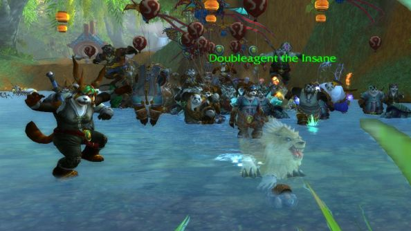 Ding: World of Warcraft player hits level 90 on his neutral Pandaren