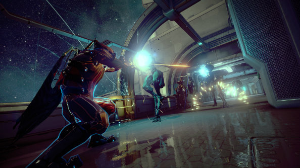 Earn double credits from now until Monday in Warframe