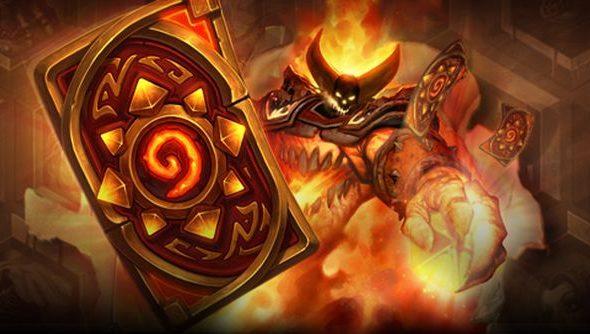 Hearthstone March Ragnaros Card Back